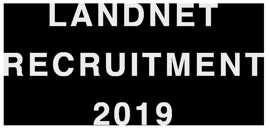 LANDNET RECRUITMENT 2019
