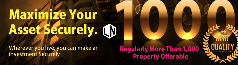 Landnet is a Japanese professional real estate brokerage company, so just let us do everything for you.